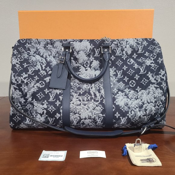 Louis Vuitton Tapestry Keepall 50 Pre-2021